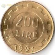 Италия 1977-2001 200 лир