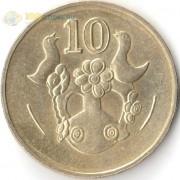 Кипр 1991-2004 10 центов