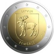 Латвия 2018 2 евро Земгале