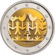 Литва 2018 2 евро Праздник песни