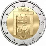 Мальта 2018 2 евро Культурное наследие