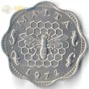 Мальта 1972 3 милса Пчела
