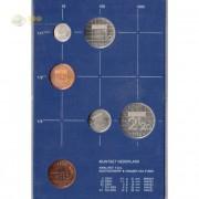 Нидерланды 1982 набор 5 монет (пластик)
