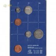 Нидерланды 1984 набор 5 монет (пластик)
