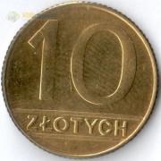 Польша 1990 10 злотых