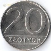 Польша 1990 20 злотых