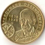 Польша 2011 2 злотых Фердинанд Оссендовский