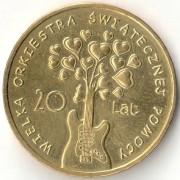 Польша 2012 2 злотых Большой оркестр