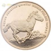 Польша 2014 2 злотых Польский коник Тарпан