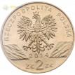 Монета Польша 2014 2 злотых Польский коник Тарпан