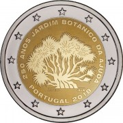 Португалия 2018 2 евро Ботанический сад