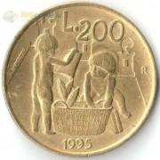 Сан-Марино 1995 200 лир Дети
