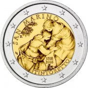 Сан-Марино 2018 2 евро Тинторетто
