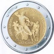 Ватикан 2018 2 евро Год европейского наследия