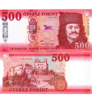 Венгрия бона 500 форинтов 2018