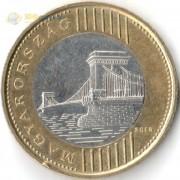 Венгрия 2012-2019 200 форинтов Мост через Дунай