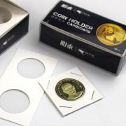 Холдеры для монет под скрепку 40 мм (50 шт.)