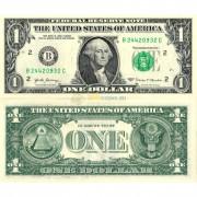 США бона 1 доллар 2017