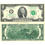 США бона 2 доллара 2013