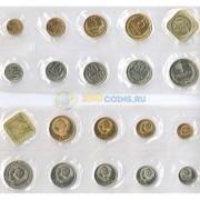 СССР 1989 годовой набор с жетоном (запайка)