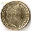 Монета Австралия 2018 2 доллара Талисман игр содружества