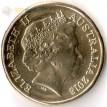 Монета Австралия 2018 1 доллар Виды спорта тип 1