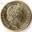 Монета Австралия 2018 1 доллар Виды спорта тип 3