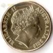 Монета Австралия 2018 1 доллар Виды спорта тип 4