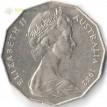Австралия 1982 50 центов XII Игры Содружества
