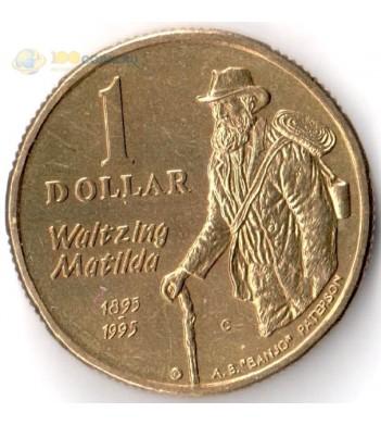 Австралия 1995 1 доллар Эндрю Банджо Патерсон
