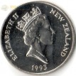 Новая Зеландия 1993 10 центов Маска Маори