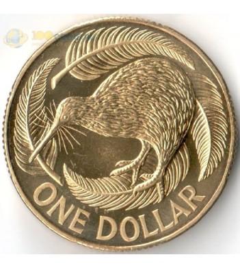 Новая Зеландия 1993 1 доллар птица киви