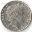 Австралия 1999-2019 20 центов Утконос