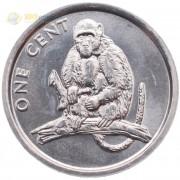 Острова Кука 2003 1 цент Обезьяна