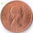 Монета Новая Зеландия 1965 1/2 пенни Амулет хей-тики