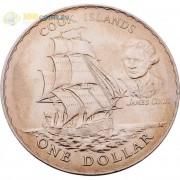 Новая Зеландия 1970 1 доллар Острова Кука