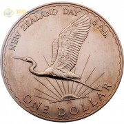 Новая Зеландия 1974 1 доллар День Вайтанги