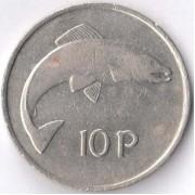 Ирландия 1969-1986 10 пенсов Атлантический лосось
