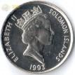 Соломоновы острова 1993-2005 5 центов Ритуальная маска