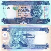 Соломоновы острова бона 5 долларов 2006