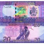 Соломоновы острова бона (034) 20 долларов 2017