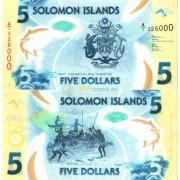 Соломоновы острова бона (new) 5 долларов 2019