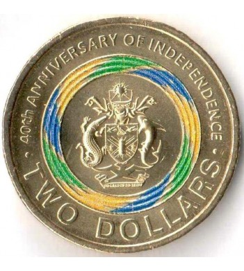 Соломоновы острова 2018 2 доллара Независимость