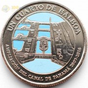 Панама 2016 1/4 бальбоа Расширение канала