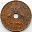 Родезия и Ньясаленд 1956 1/2 пенни