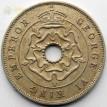 Южная Родезия 1937 1 пенни Георг VI