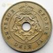 Южная Родезия 1938 1 пенни Георг VI