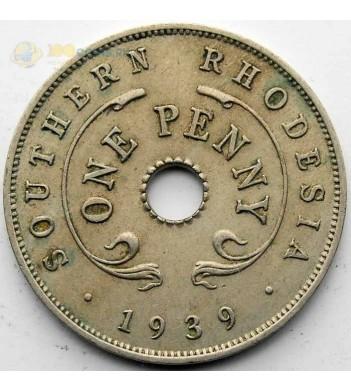 Южная Родезия 1939 1 пенни Георг VI