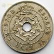 Южная Родезия 1942 1 пенни Георг VI