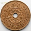 Южная Родезия 1943 1 пенни Георг VI
